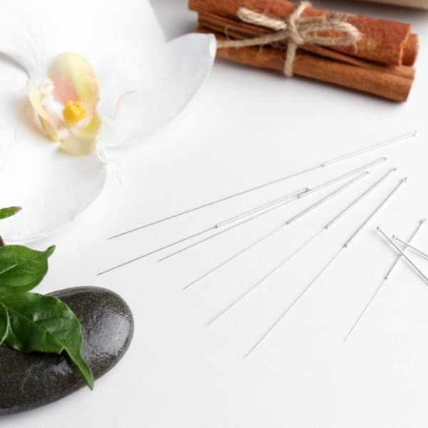 Calatma California acupuncture objects needles flower stone